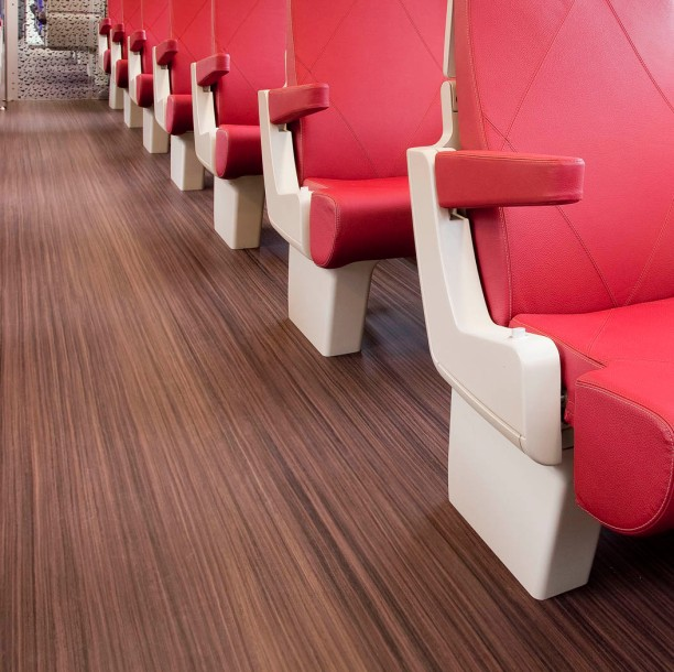 FFS - Dutch Rail Marmoleum Striato 1