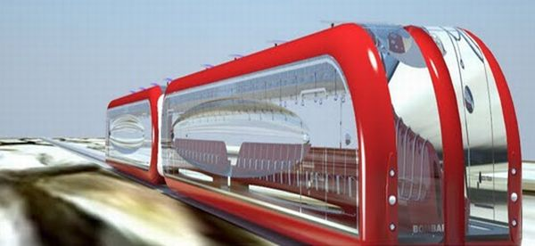 maglev concept train
