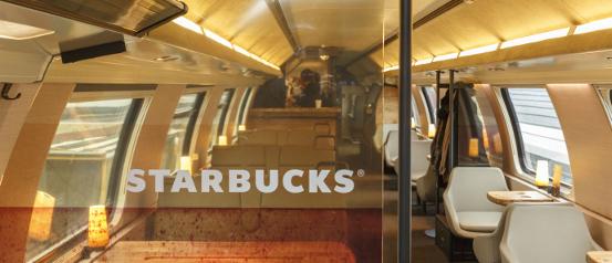 Starbucks-Wagen der SBB, aufgenommen am 12. November in Zürich. Verwendung SBB-Extern und -Intern, exkl. Werbung und Kampagnen. Foto & Copyright 2013:  François Gribi, Fotograf BR & ZHdK, CH - 3006 Bern