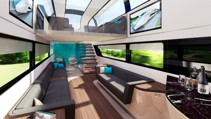 rail interior design