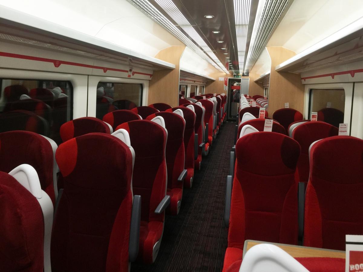 Virgin Trains East Coast Install Tessera Fr For A Fresh