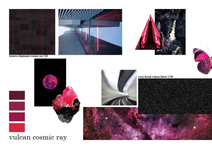 vulcan cosmic ray mood board