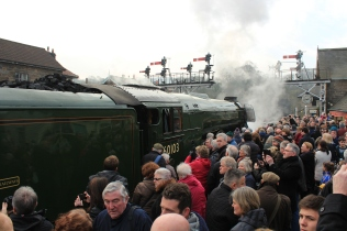The welcome at Grosmont.JPG