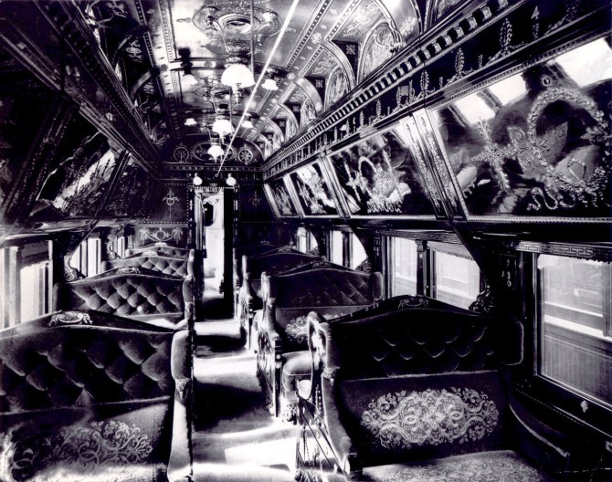 5 train carriage interiors from history that we love forbo flooring transport. Black Bedroom Furniture Sets. Home Design Ideas