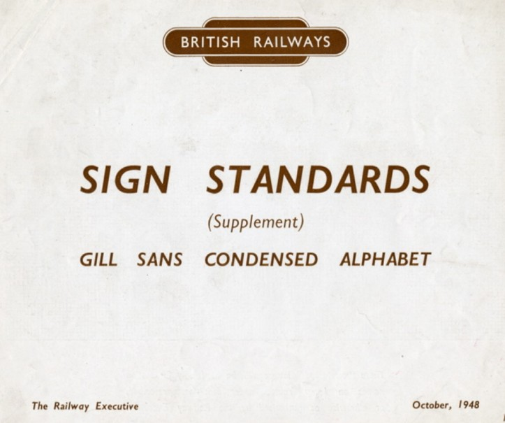 british railways gill sans