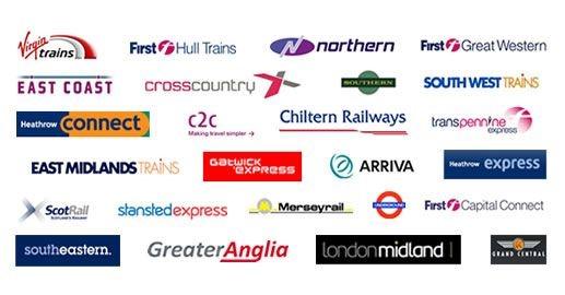 rail logos