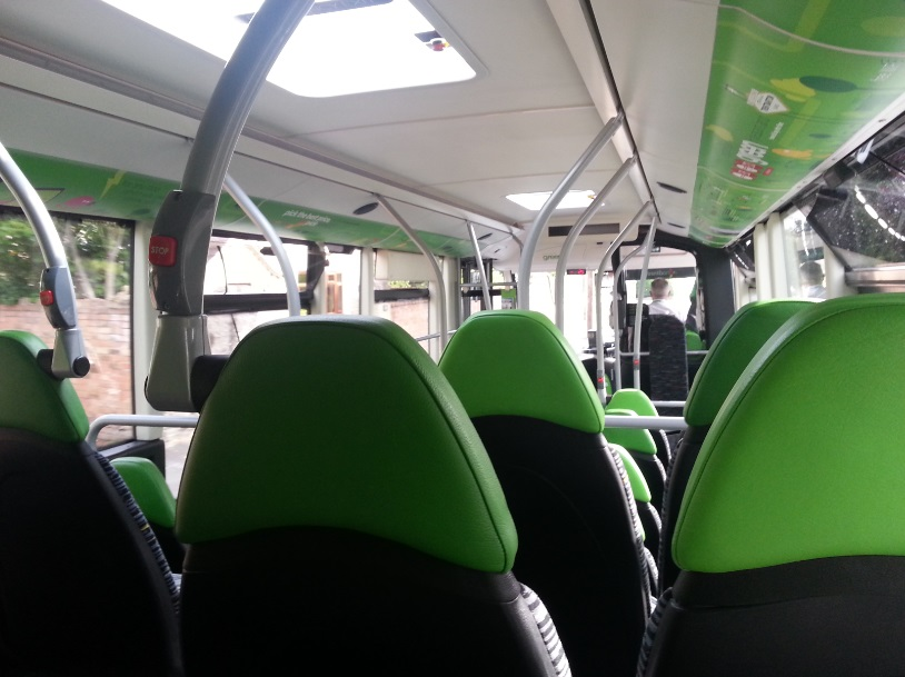 Image result for green bus interiors