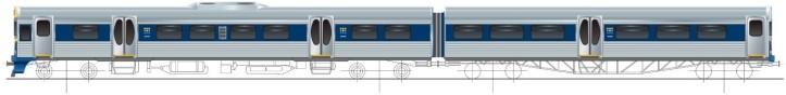 Auckland Rail Exterior Plan 2002