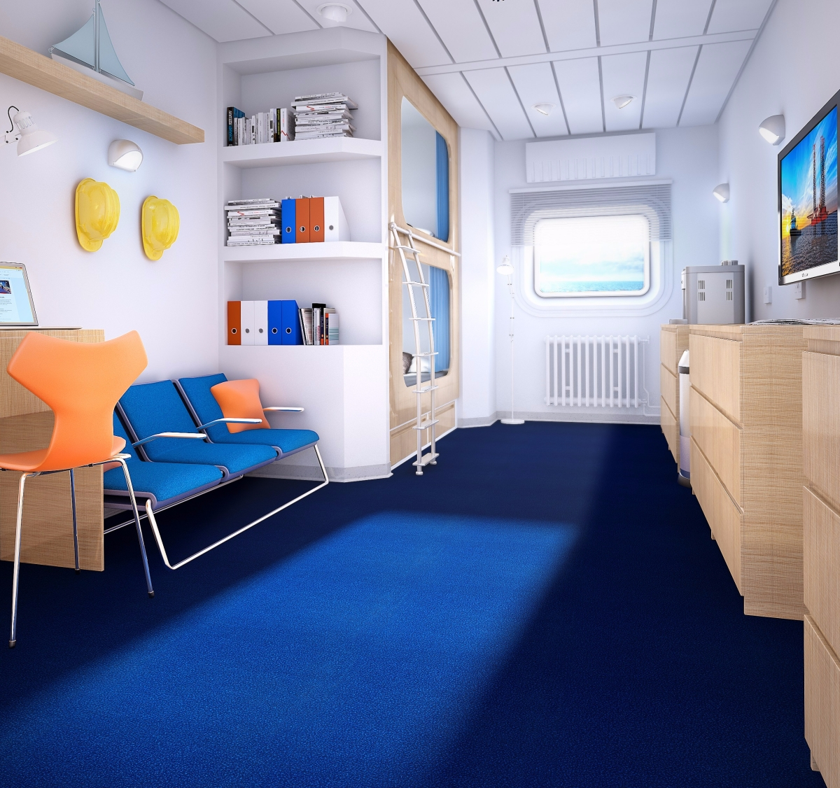 Safety And Comfort In Offshore Accommodation Forbo