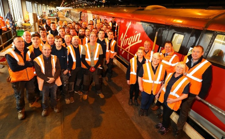 Virgin Trains East Coast Forbo